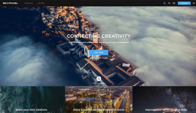 Skypixel.com: Κοινότητα φωτογράφων με Drones
