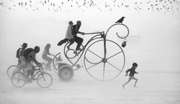 Victor Habchy: Ονειρικές φωτογραφίες από το Burning Man
