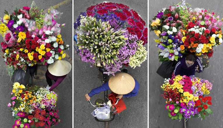 Φωτογραφίες διανομέων από ψηλά στο Βιετνάμ. Ένα ιδιαίτερα πρωτότυπο και πανέμορφο φωτογραφικό project.
