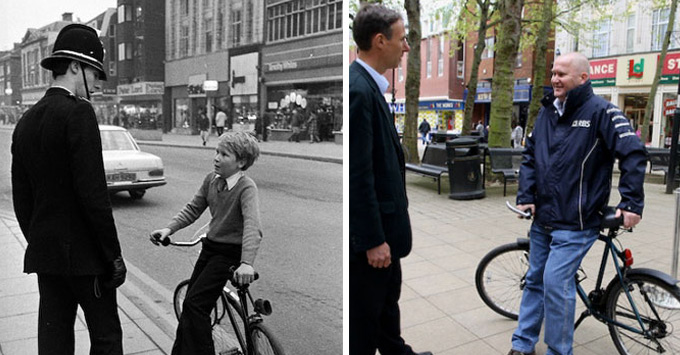 Ενας φωτογράφος δρόμου βρίσκει και ξαναφωτογραφίζει ανθρώπους που συνάντησε 30+ χρόνια πρίν!